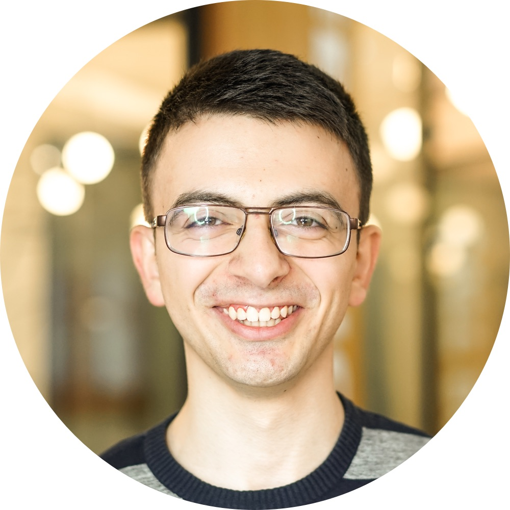 Andranik S.   A React and Node.js fan that love interesting projects full of challenges.    Full-Stack JavaScript Developer