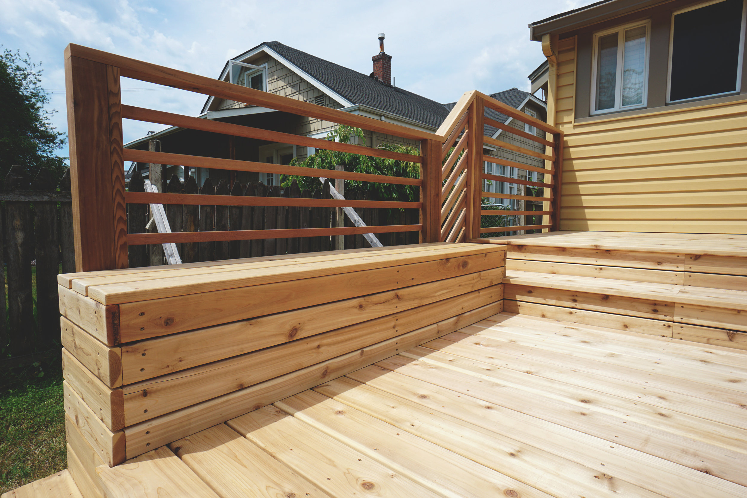 Tacoma Proctor District Deck Project