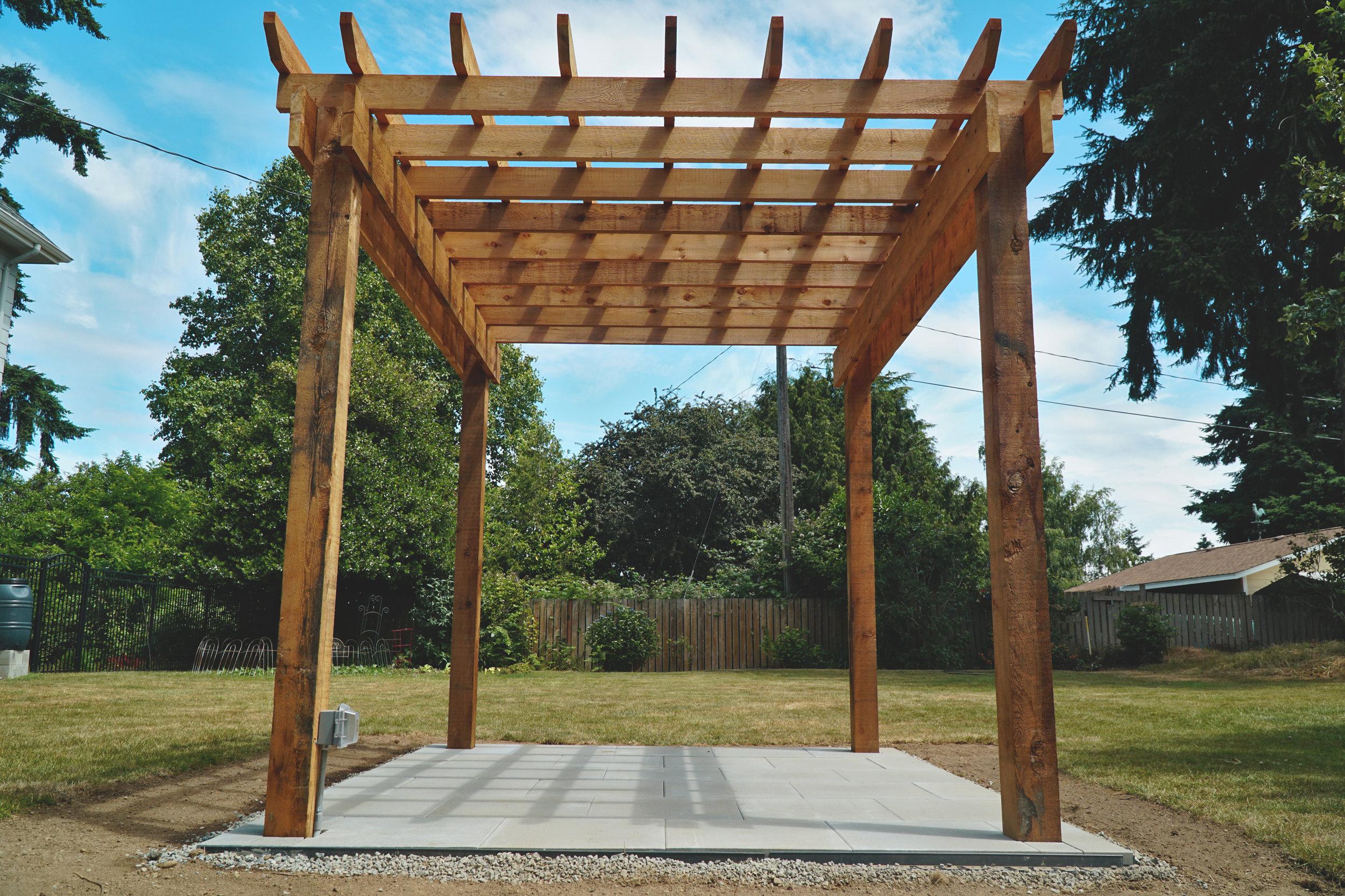 Tacoma Pergola Builder