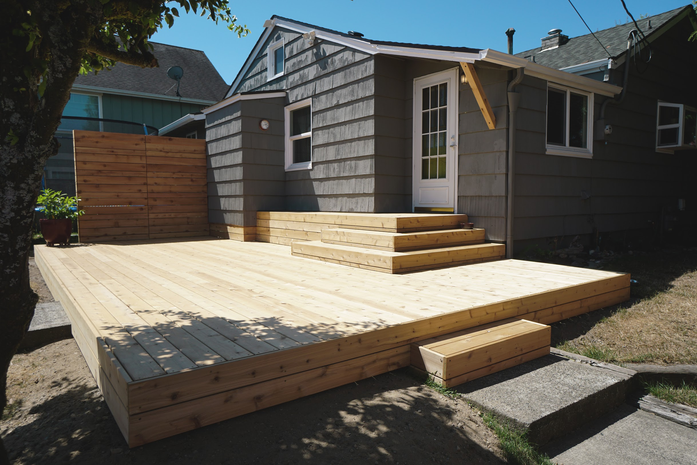 Tacoma Deck Construction Company