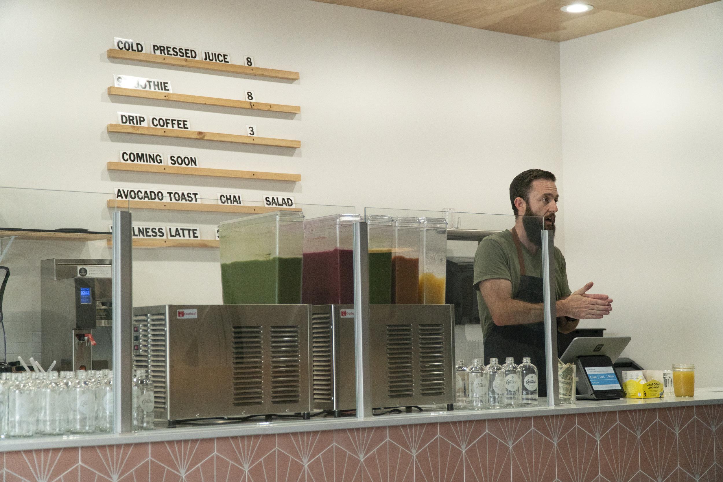 Gather Juice Co. Tacoma, Washington Juice Shop