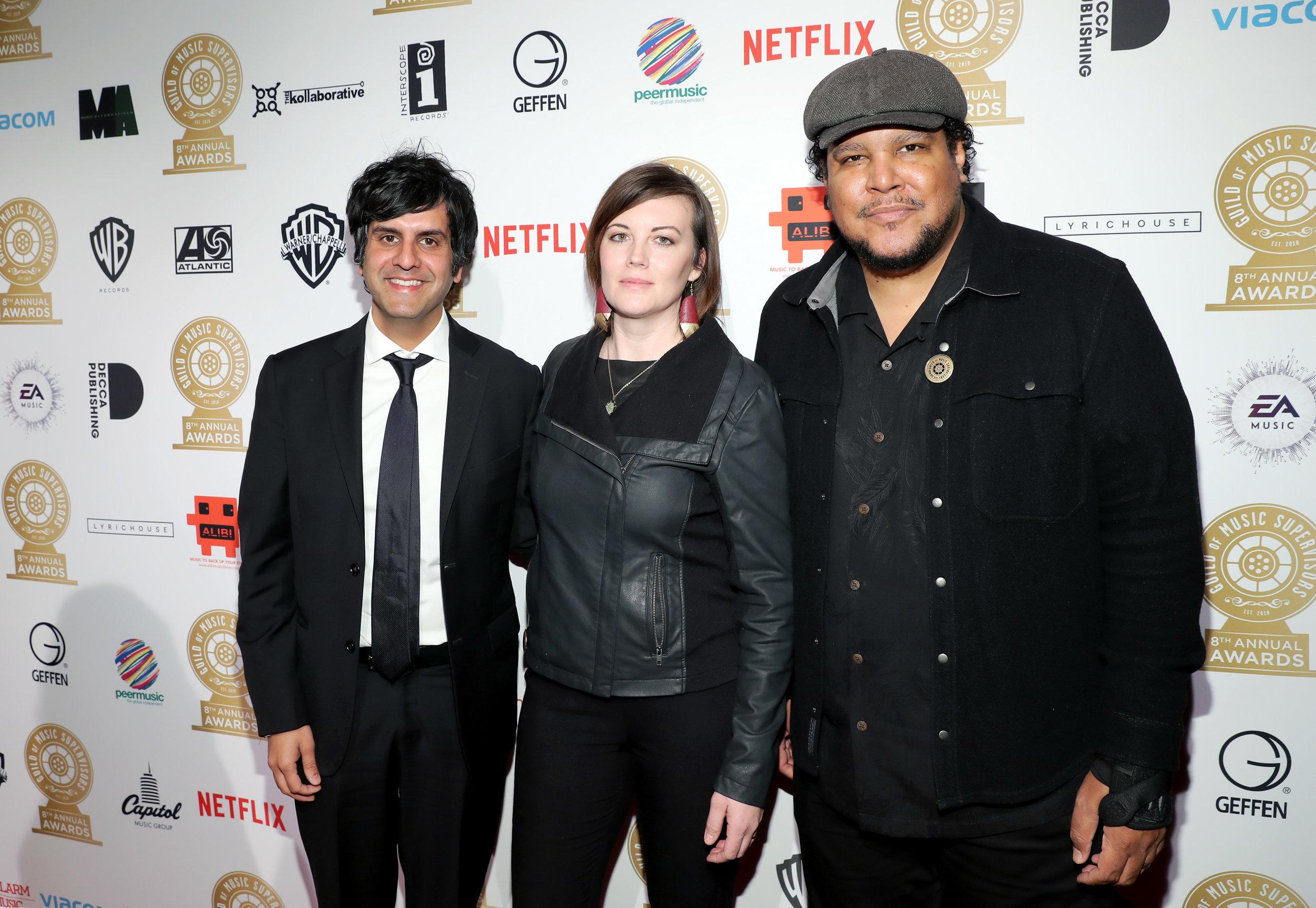 Siddhartha Khosla, Hannah Miller, Chris Pierce