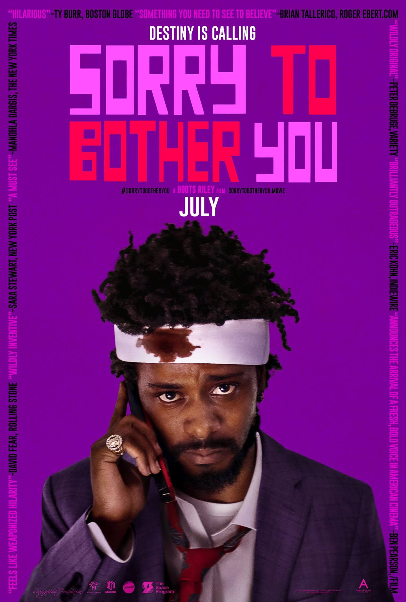Pop Disciple Sorry To Bother You Boots Riley Tune-Yards Merrill Garbus The Coup