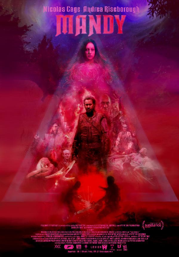 Pop Disciple Mandy Nicolas Cage Panos Cosmatos Jóhann Jóhansson Composer Score Film Music