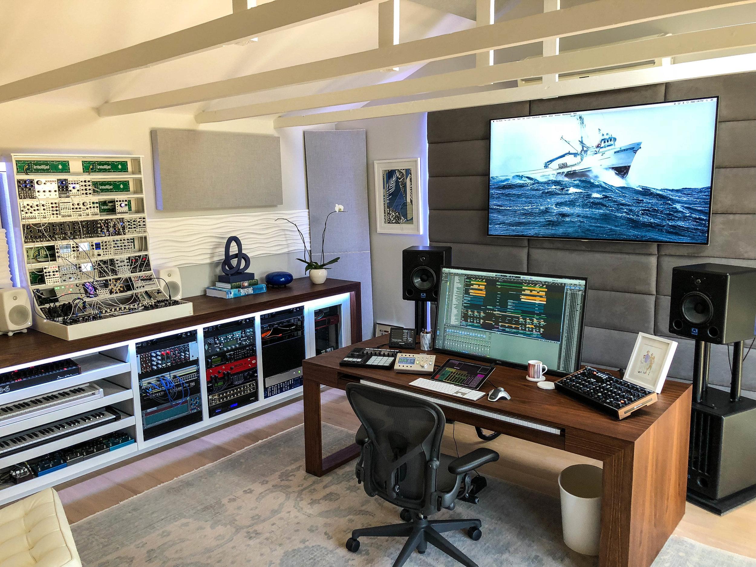 Didier Lean Rachou's Studio  in Los Angeles