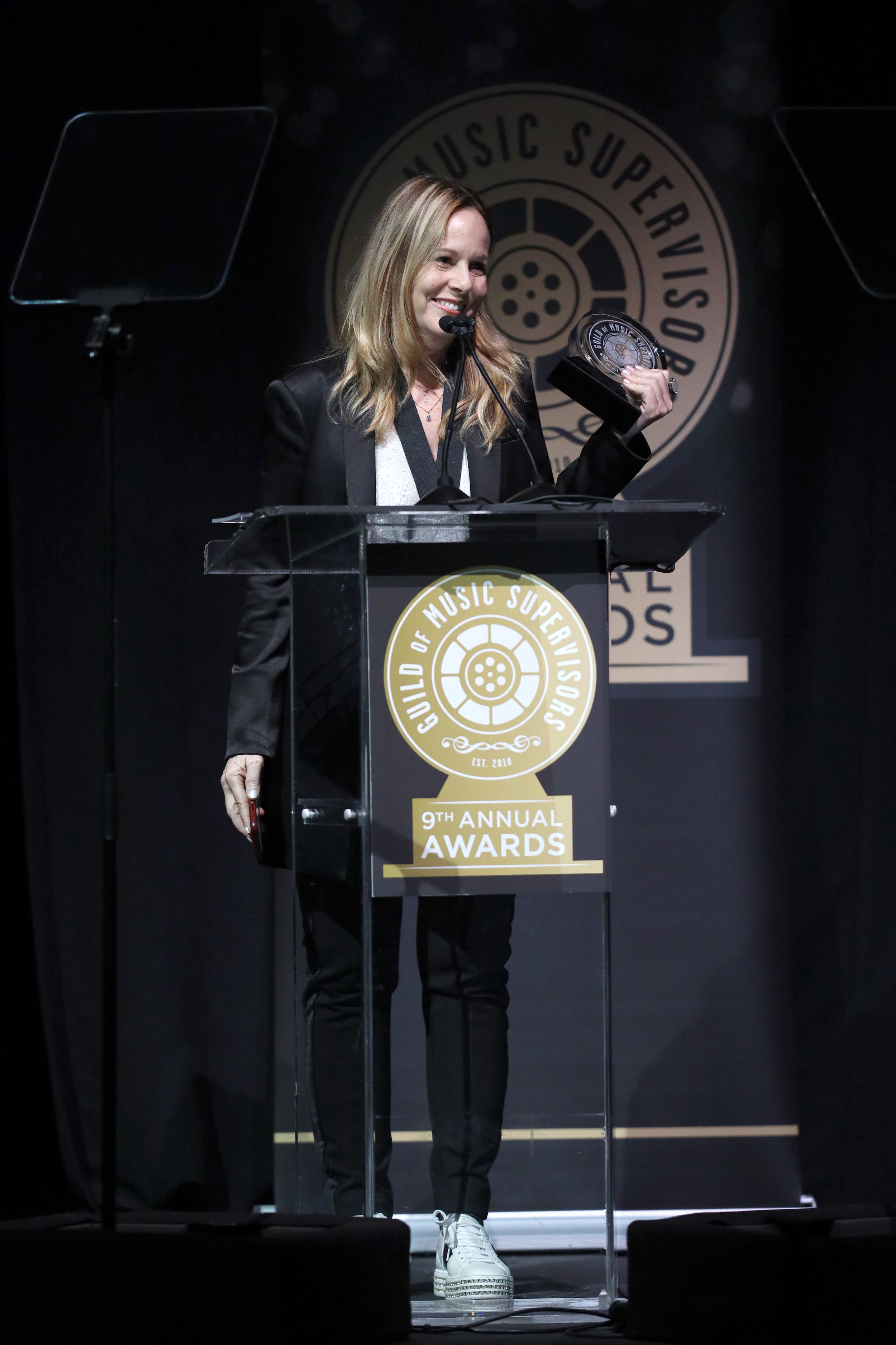 Robin Urdang at the 9th Annual Guild of Music Supervisors Awards. | © Rich Polk | Getty Images