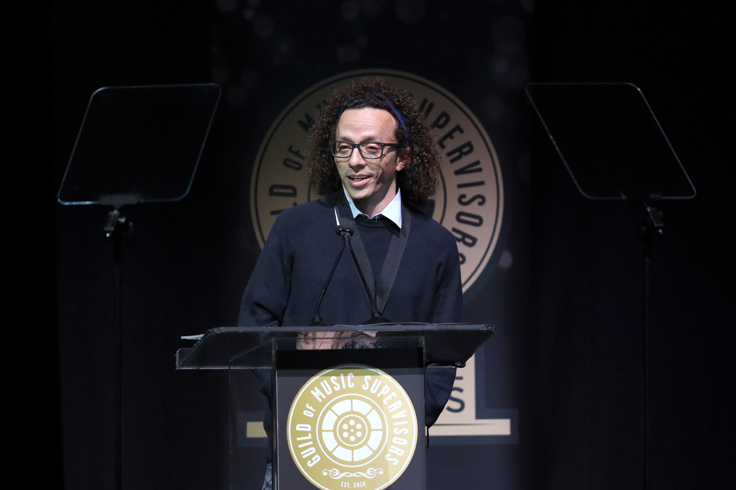 Jordan Silverberg at the 9th Annual Guild of Music Supervisors Awards. | © Rich Polk | Getty Images