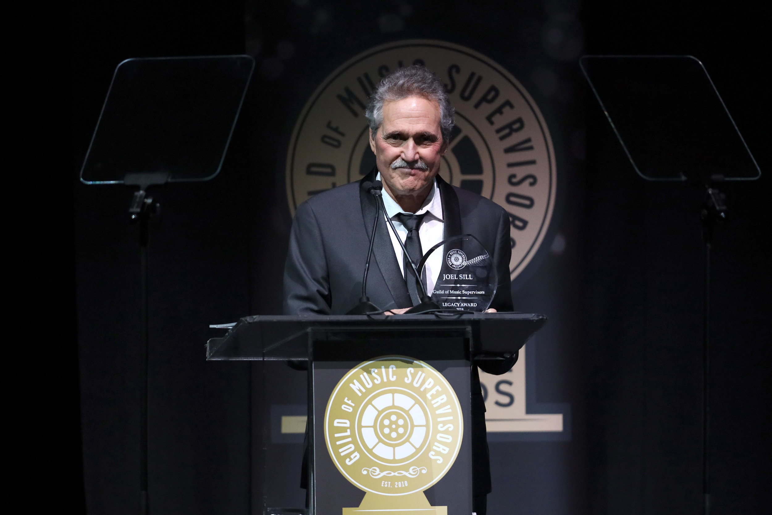 Legacy Award winner, Joel Sill at the 9th Annual Guild of Music Supervisors Awards | © Rich Polk | Getty Images