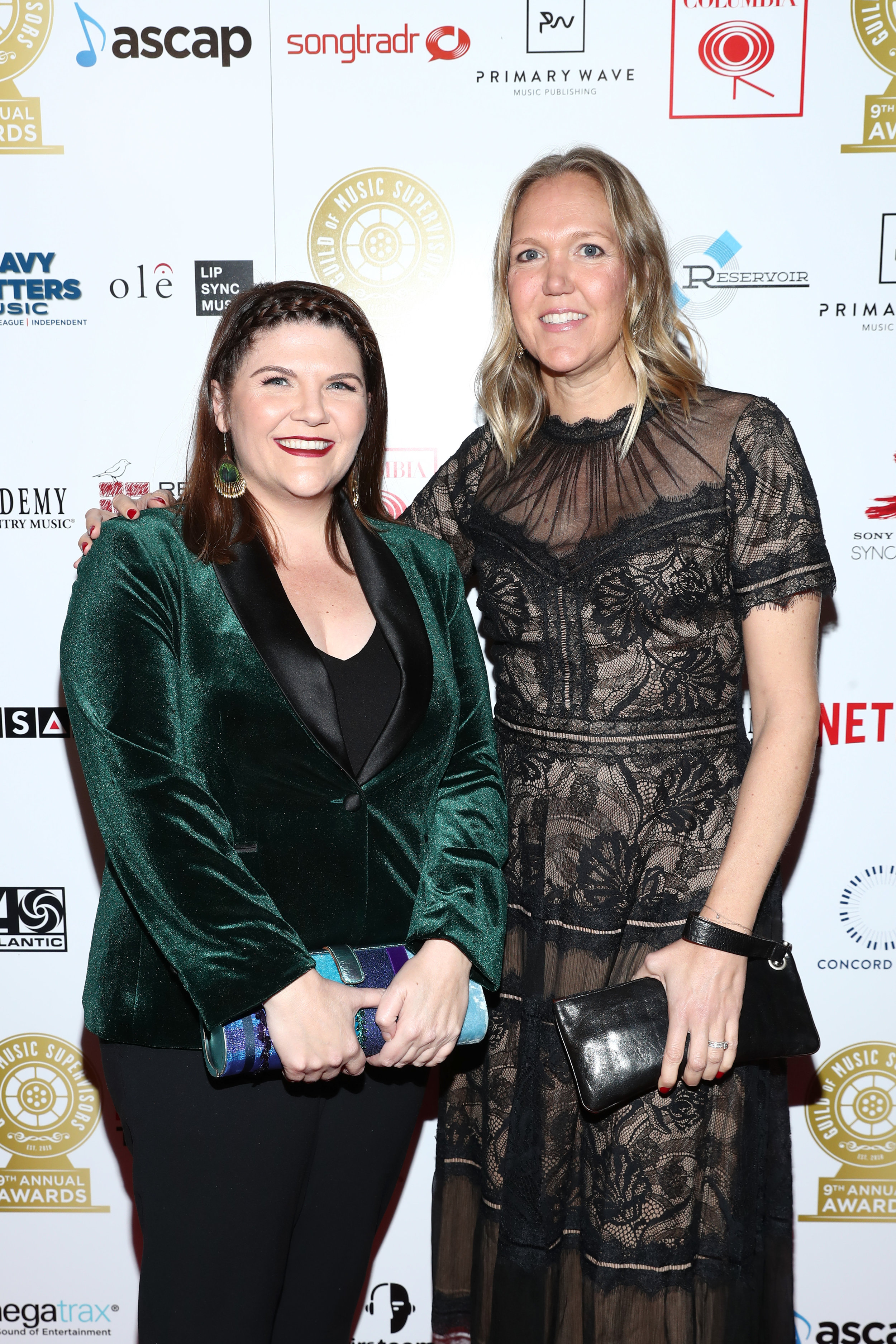 Laura Webb and Lindsay Wolfington at the 9th Annual Guild of Music Supervisors Awards | © Rich Polk | Getty Images