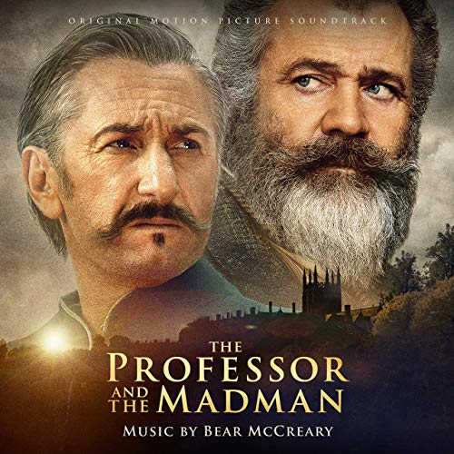 Pop Disciple Soundtrack OST Score Film Music New Releases The Professor and the Madman Bear McCreary