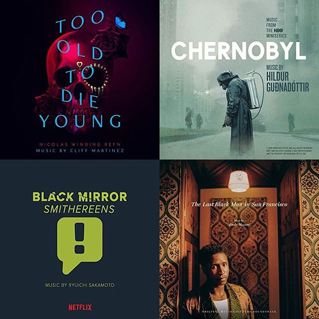 Explore our June Soundtracks feature! Hear them all in one place. 💀  @totdytv | #CliffMartinez  @hbo #Chernobyl | @hildur_gudnadottir @netflix #BlackMirror #Smithereens | @skmtgram @lastblackmansf | @emilemosseri  #DarkPhoenix | @hanszimmer  @secretlifeofpets | @alexandredesplat @meninblack | @dannyelfman #ChrisBacon @toystory | @randynewmanofficial @shaftmovie | @clennertzmusic @gabe.hilfer_music  #Deadwood | @reinholdheil #JohnnyKlimek @thedeaddontdie | @squrlband @pavarottifilm @annabellemovie | @j_bishara @childsplaymovie | @bearmccreary #Domino | #PinoDonaggio @outlander_starz | @bearmccreary   Link in @popdisciple bio to listen now ✨