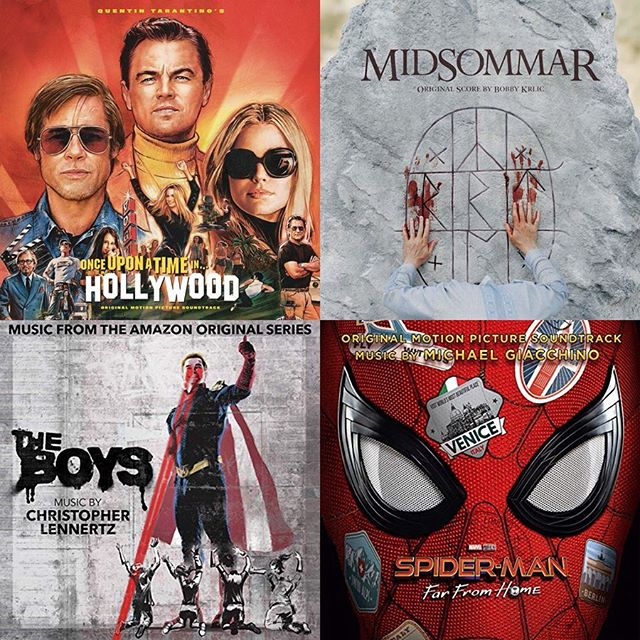 Explore our July soundtracks feature! ⁣ Hear them all in one place. 🌴 ⁣ ⁣ @onceinhollywood | @maryramosmusic⁣ @midsommar | @thehaxancloak⁣ @theboystv | @clennertzmusic⁣ @spiderman #farfromhome | @m_giacchino⁣ @marvelsjessicajones | #SeanCallery⁣ @biglittlelies | @earwormmusic⁣ @lionking | @hanszimmer⁣ @strangerthingstv | @norafelder1 @kvledixon @michaelstein⁣ @startrek #Discovery | @jeffersonrusso⁣ @darknetflix | @ethermachines⁣ #ILoveYouNowDie | @ihultquist⁣ @crawlmovieofficial | @maxaruj @steffen.thum⁣ #RedDeadRedemption2 | @daniellanois⁣ @harlotsonhulu | @raeljones ⁣ ⁣ Link in @popdisciple bio to hear them all. ✨