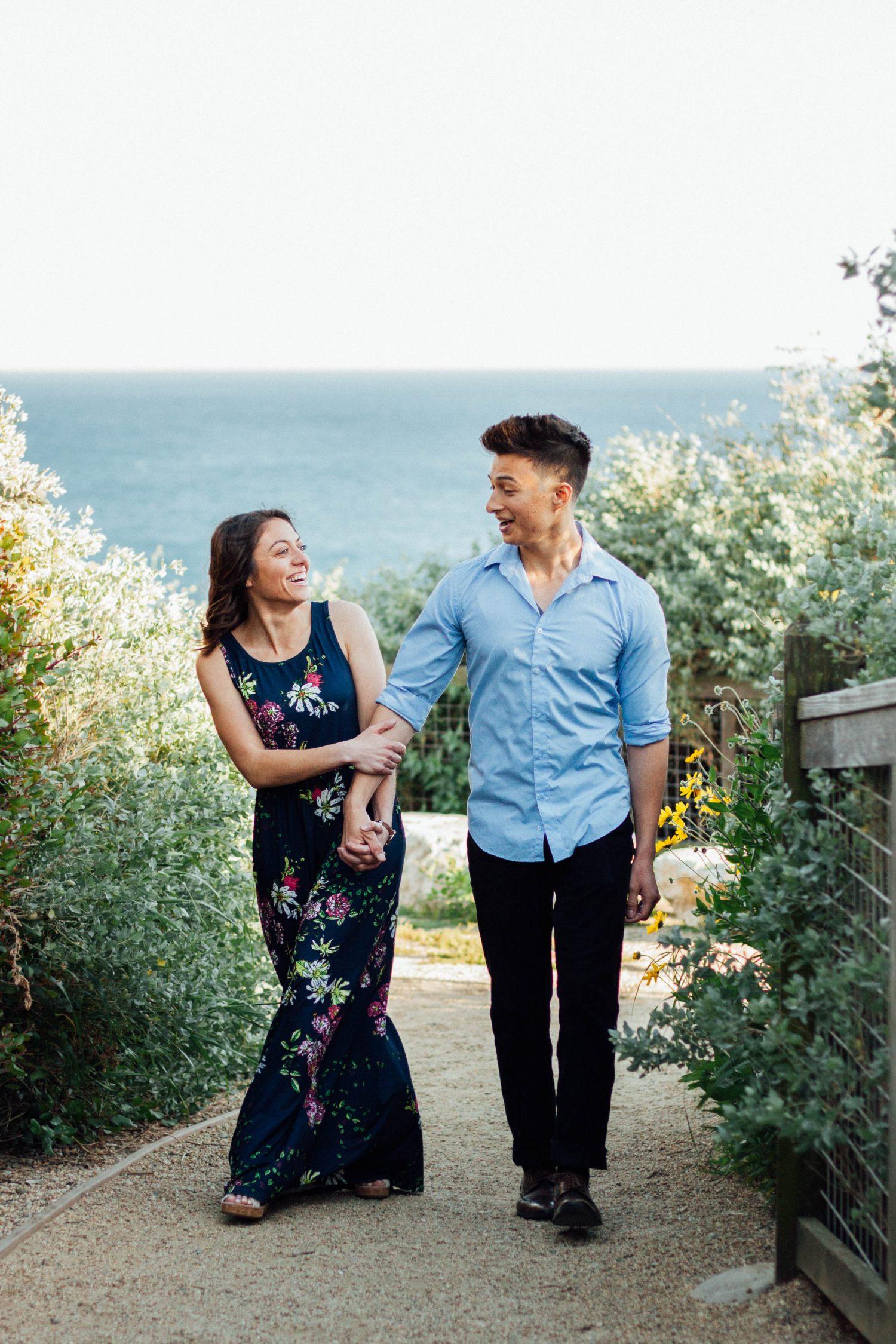 Terranea Beach , Palos Verdes - Engagement Session