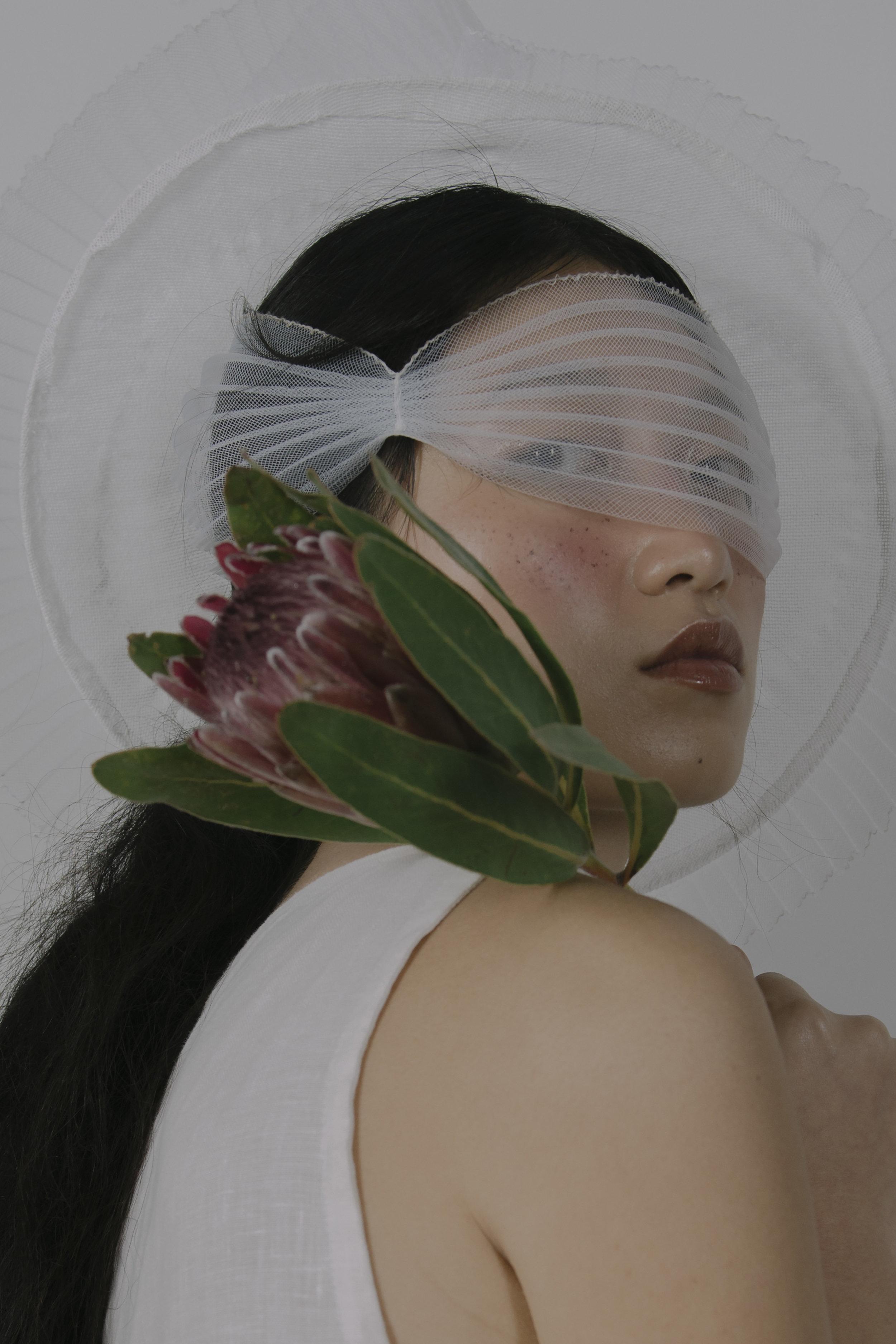 Girl, not a vase.  Photographer: Khiera Nicole Stylist: Betty Liu Hmua: Chloe Rose
