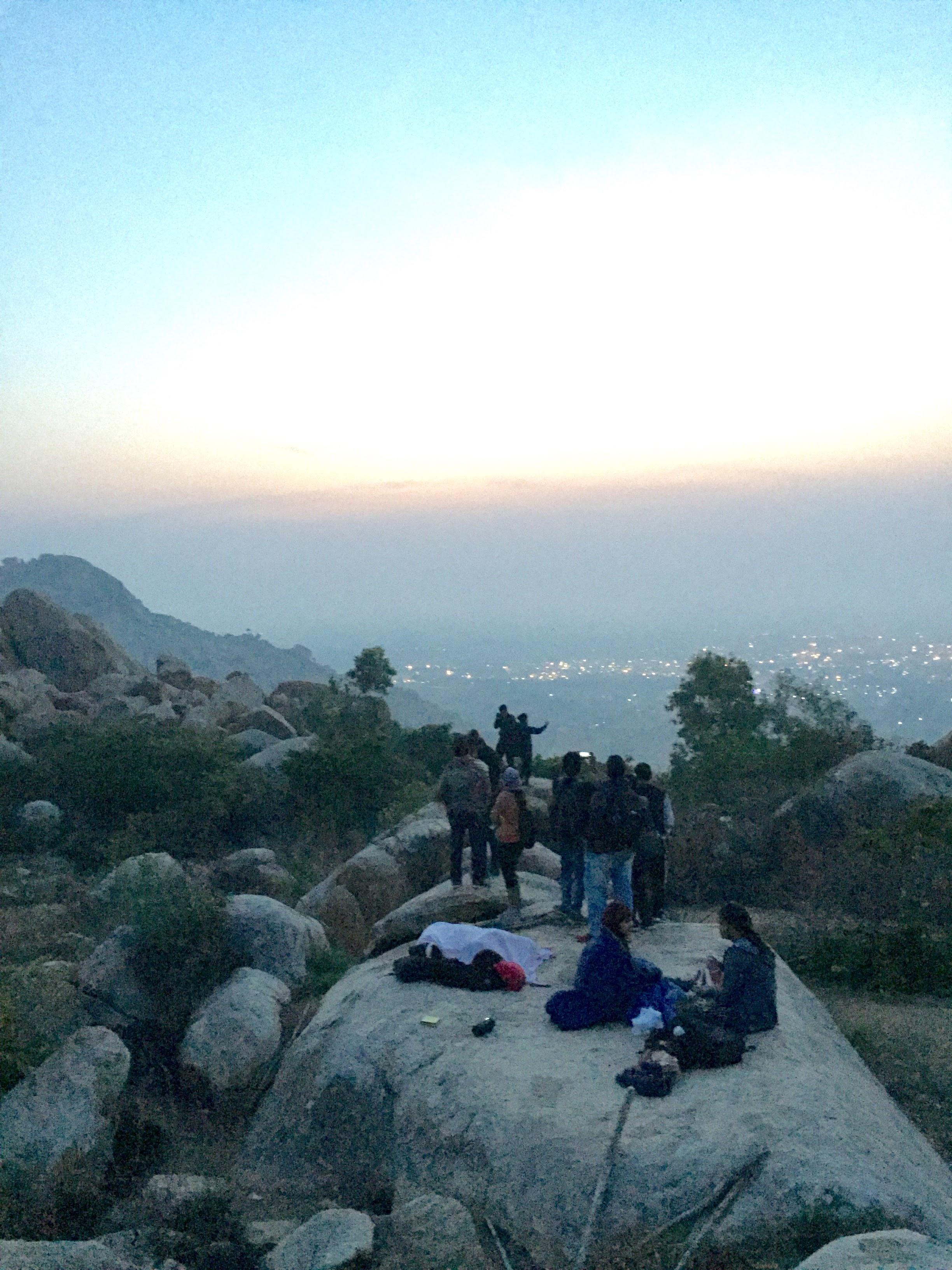 Sunrise view - Anthargange hills