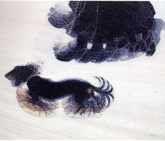 Dynamism of a Dog on a Leash, Giacomo Balla, 1912