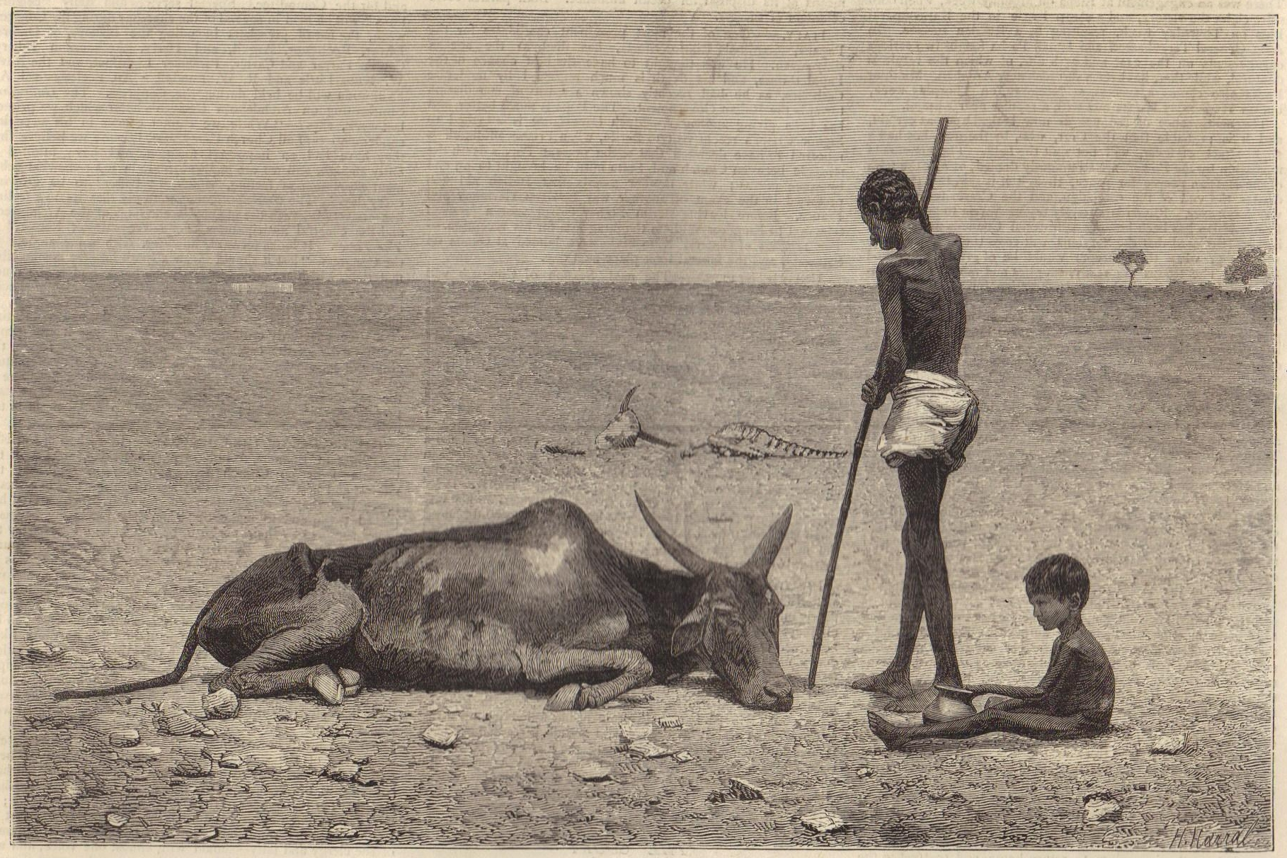 The Great Famine of India