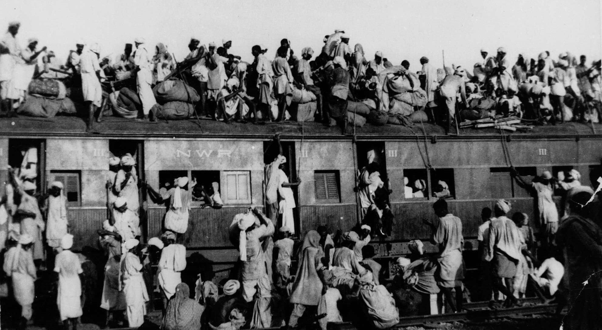 Scenes of Indian partition, 1947