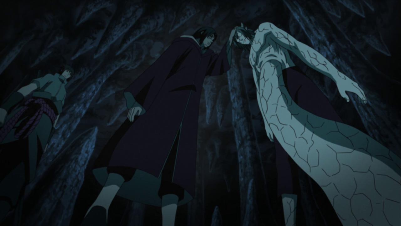 Uchiha Itachi puts Kabuto in an Izanami time loop