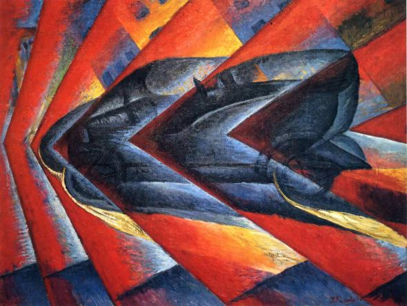 Dynamism of an Automobile, 1911
