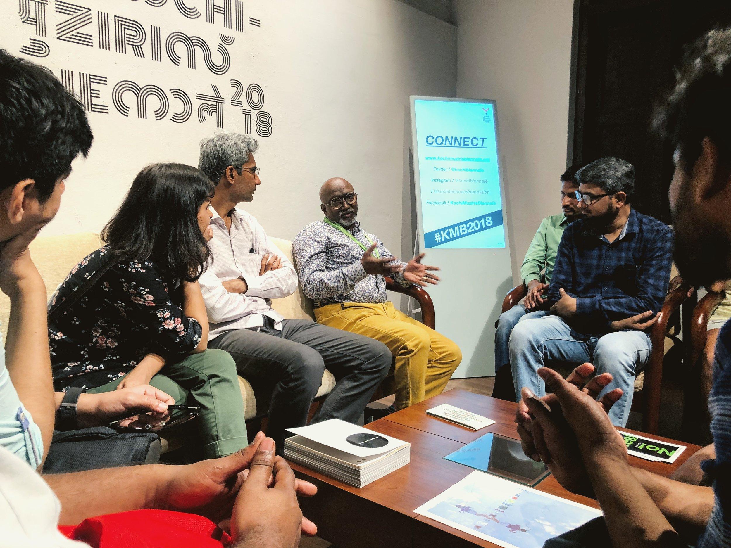 In conversation with  Bose Krishnamachari  Director, Kochi Biennale Foundation