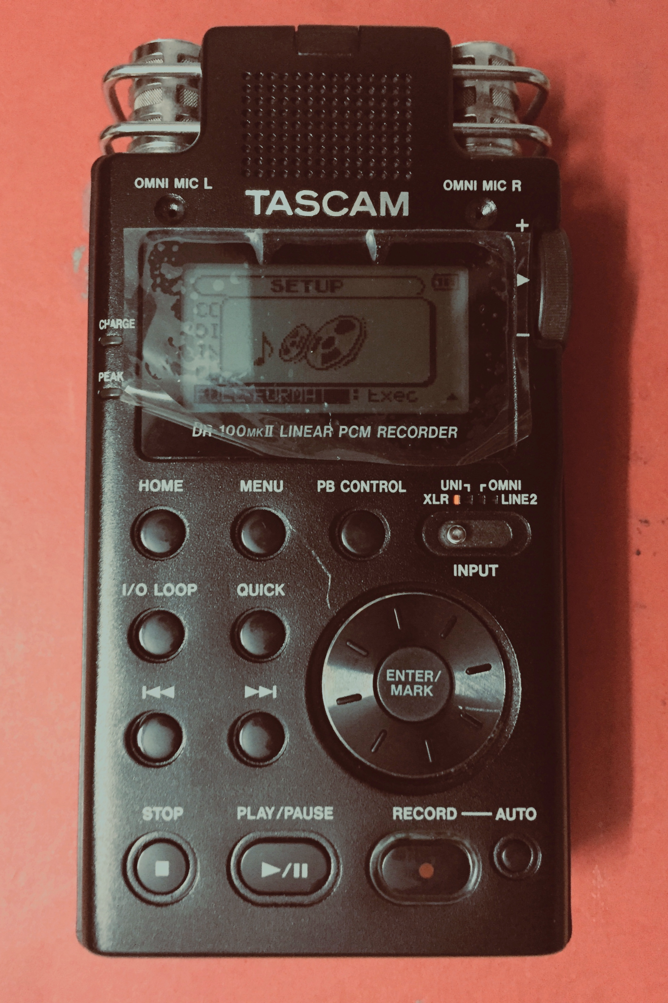 The TASCAM DR-100MKII's interface is non-intuitive compared to other recording devices available to us like our smartphones; even though it offers more customised controls. Hence, it has a higher learning curve.