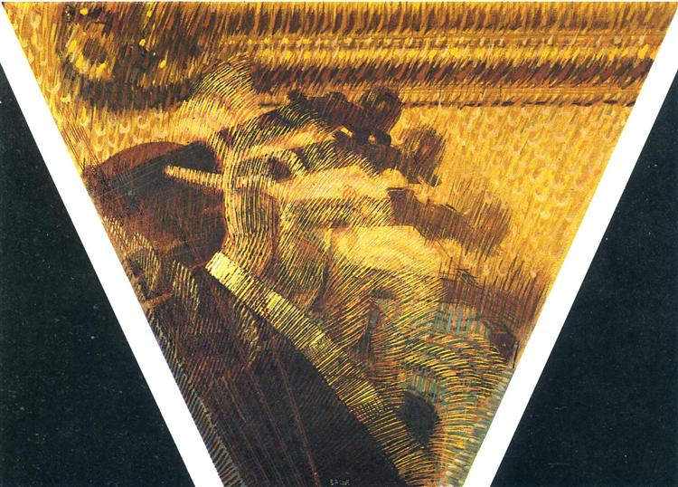 The Hand of the Violinist Artist:   Giacomo Balla   Year:  1912, Italy  Style:  Futurism