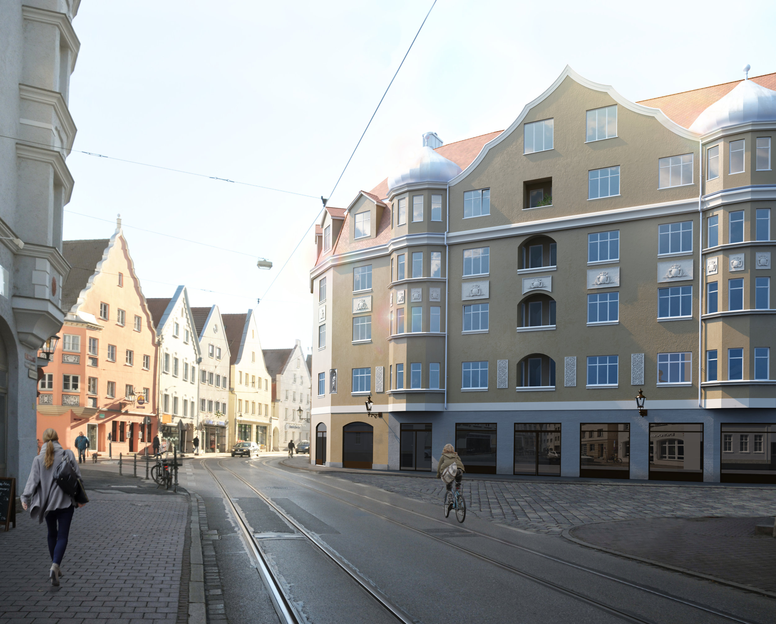 Visualisierung Georgenresidenz Augsburg