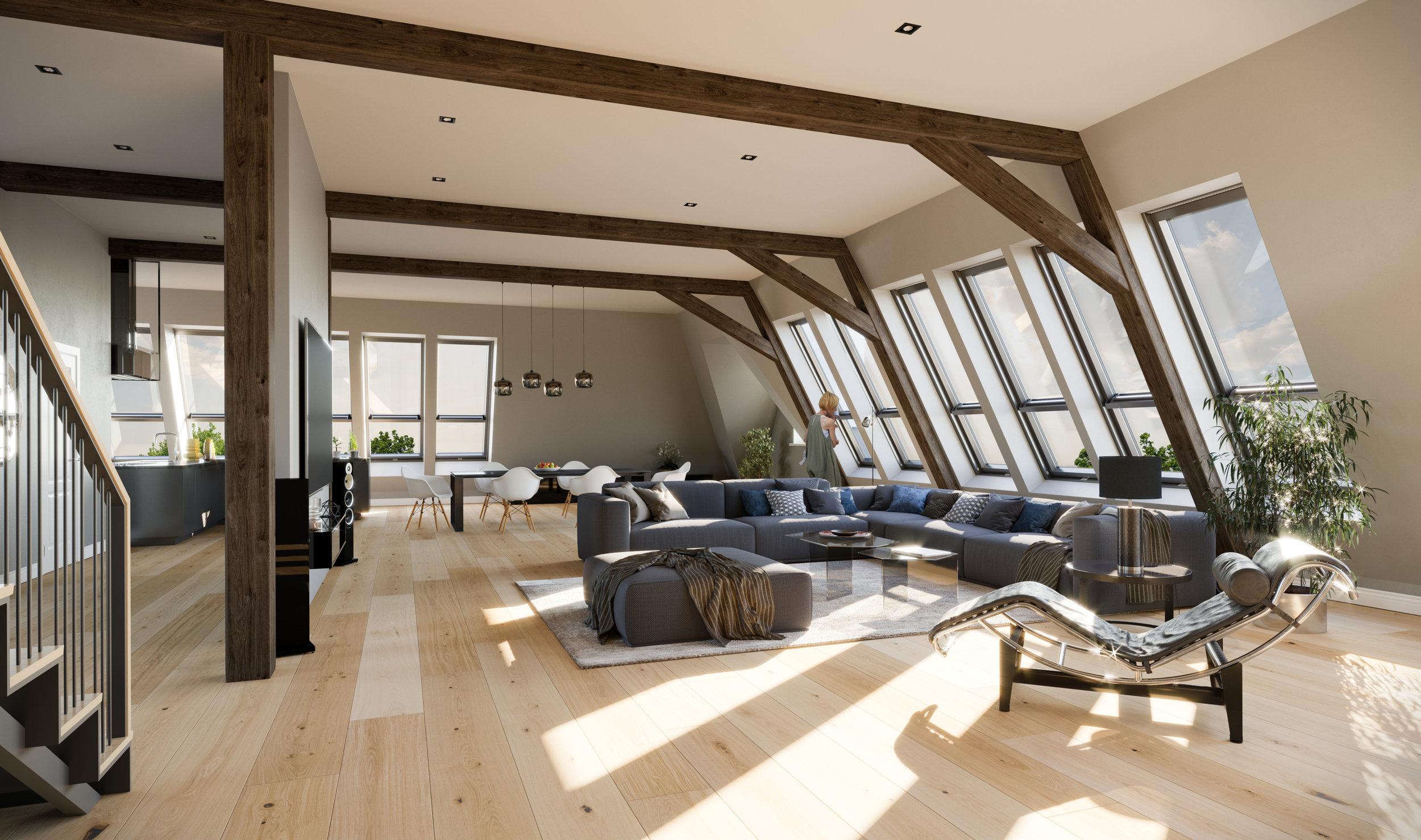 PAtrizier-palais penthouse