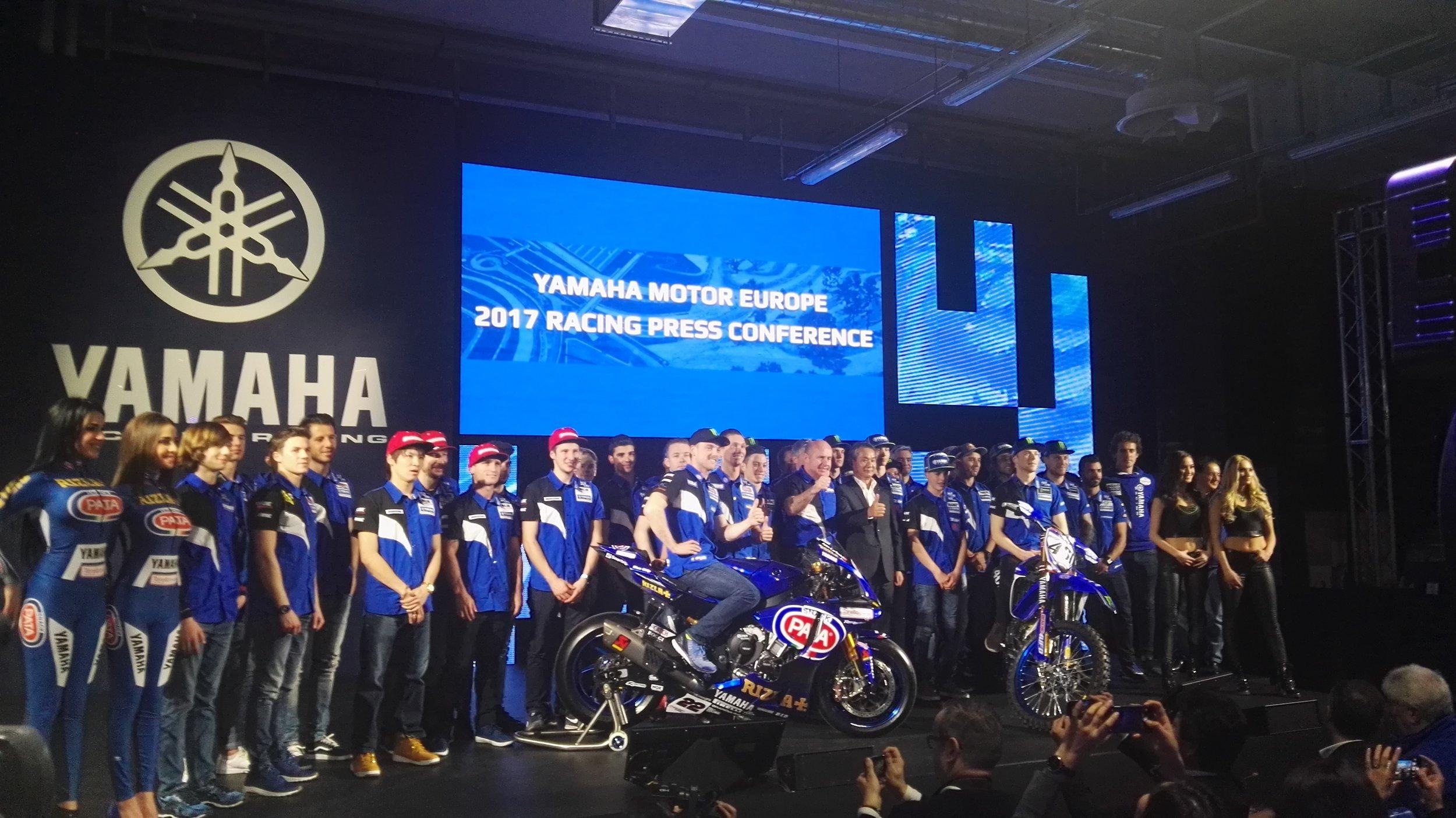 Conference Yamaha Motor Europe 2017
