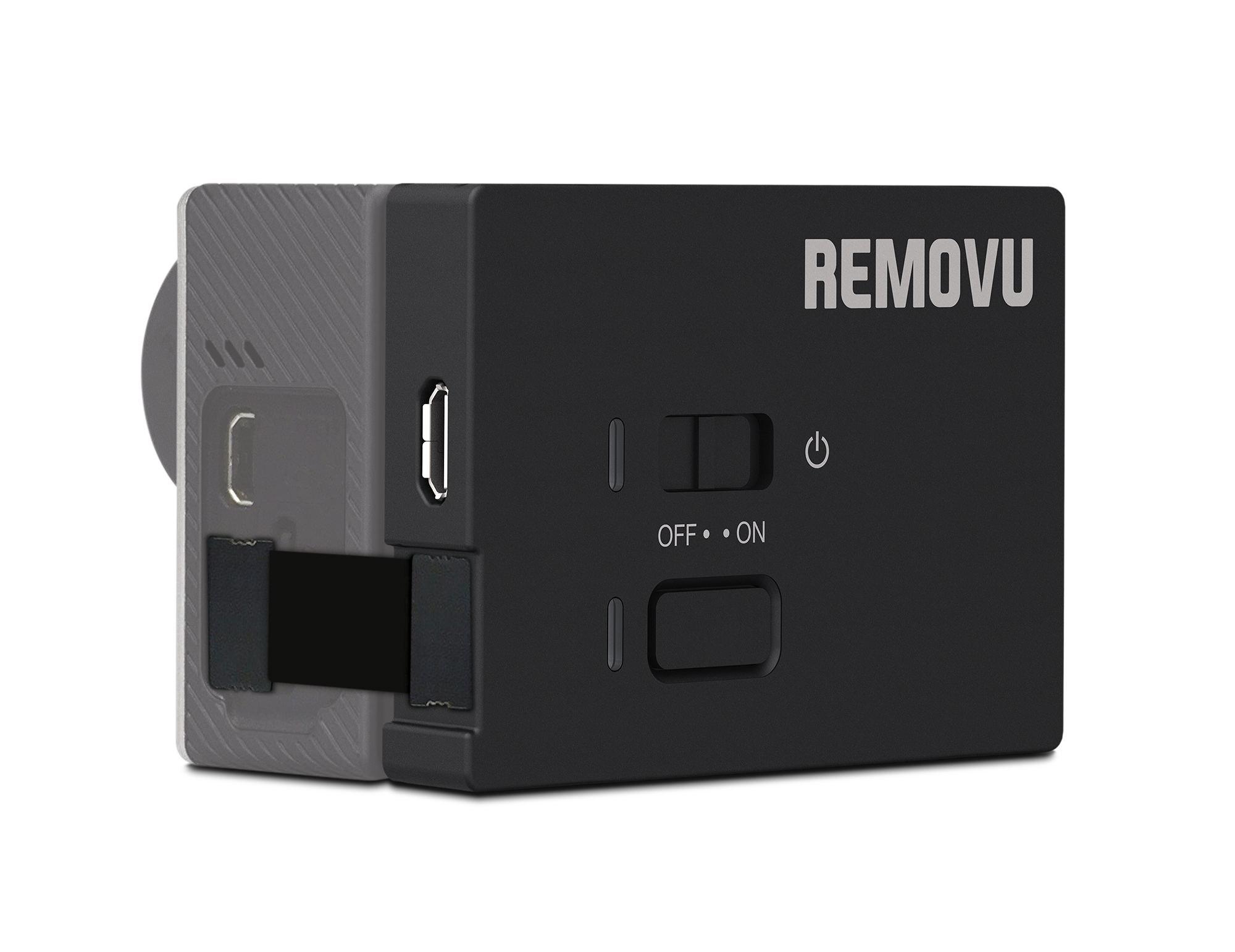 REMOVU A1 - The M1 records high quality sounds.It fits perfectly into a standard BackPac GoPro housing.