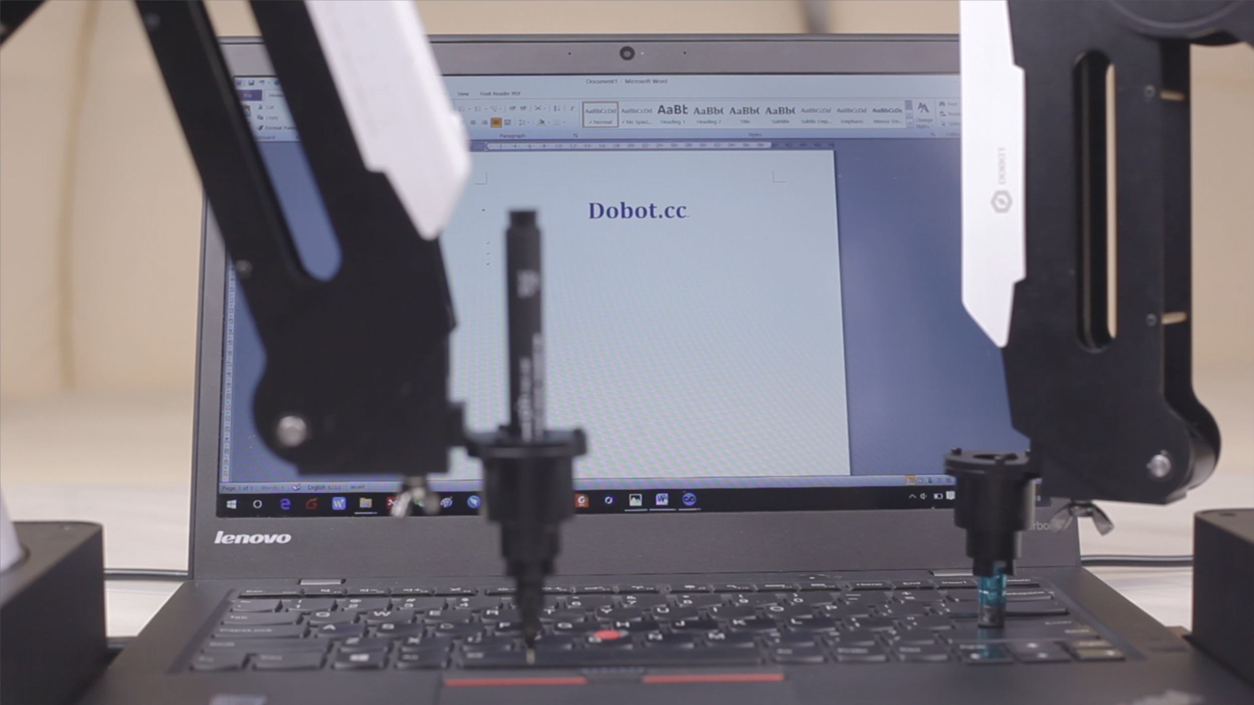Operation software - DobotStudio made controlling the rebotic arm really easy as it has integrated many features to the software. It contains a whole set of parameters for you to costomize so you can control the robotic arm without any coding.