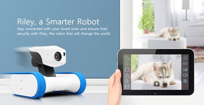 Live stream from any location - Connect the AppBot to Wifi and smartphone and follow all activities around the house. Video, pictures, audio messaging and livestream from any place in the world.