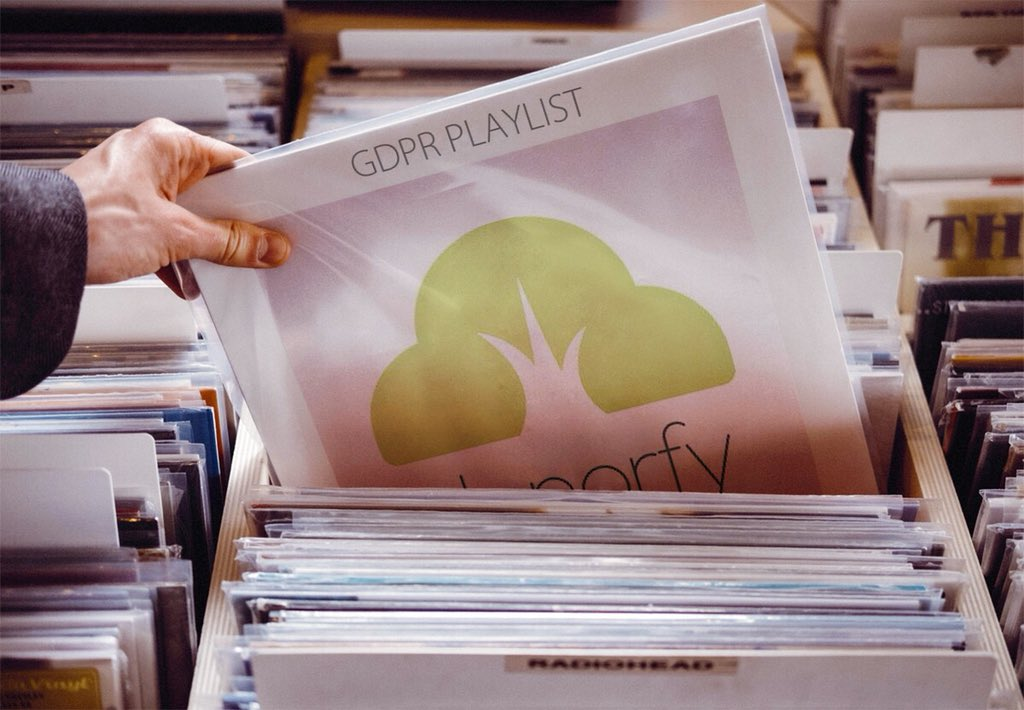 Donorfy GDPR Spotify Playlist