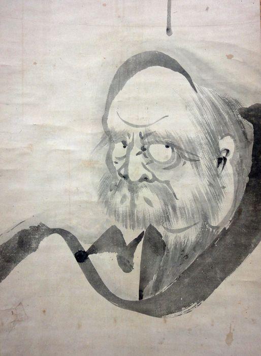 Hakuin Ekaku - I det andre ekoet (Soshi eko) som blir resitert på RZS kan du høre Ino resitere lærerlinjen i vår gren av Rinzai-zen. Mot slutten av lista kan du høre Hakuin Ekakus navn. Han er kjent som en av de mest betydningsfulle rinzai-lærere gjennom tidene og gis æren for å ha revitalisert japansk zen i en periode av stagnasjon og forfall.Hakuin Ekaku Zenji (1686 -1769) ble født i nærheten av Mt. Fuji i Japan. Han ble ordinert ved Shōin-ji-tempelet rundt år 1700, men tilbragte mange år som en vandrende munk som praktiserte både alene og med forskjellige lærere. I løpet av denne tiden gikk han gjennom mange harde prøvelser, både fysisk og psykisk, men opplevde også det han beskrev som flere mindre kensho-erfaringer (opplysnings-erfaringer).Etter å ha oppnådd satori (sterkere kenshō, dypere spirituell opplevelse) returnerte han til Shōin-ji hvor han tjente som abbed og tiltrakk seg mange studenter.