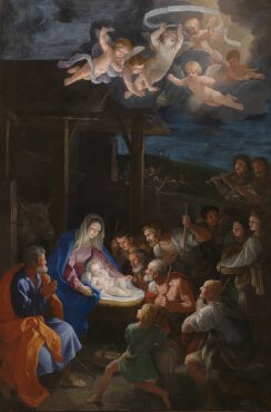 Room 32: Adoration of the Shepherds Artist: Guido Reni
