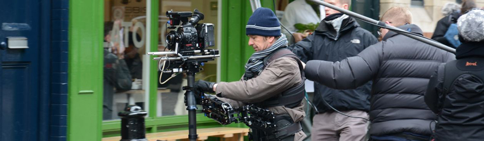 Michael O'Halloran operating a Canon C300