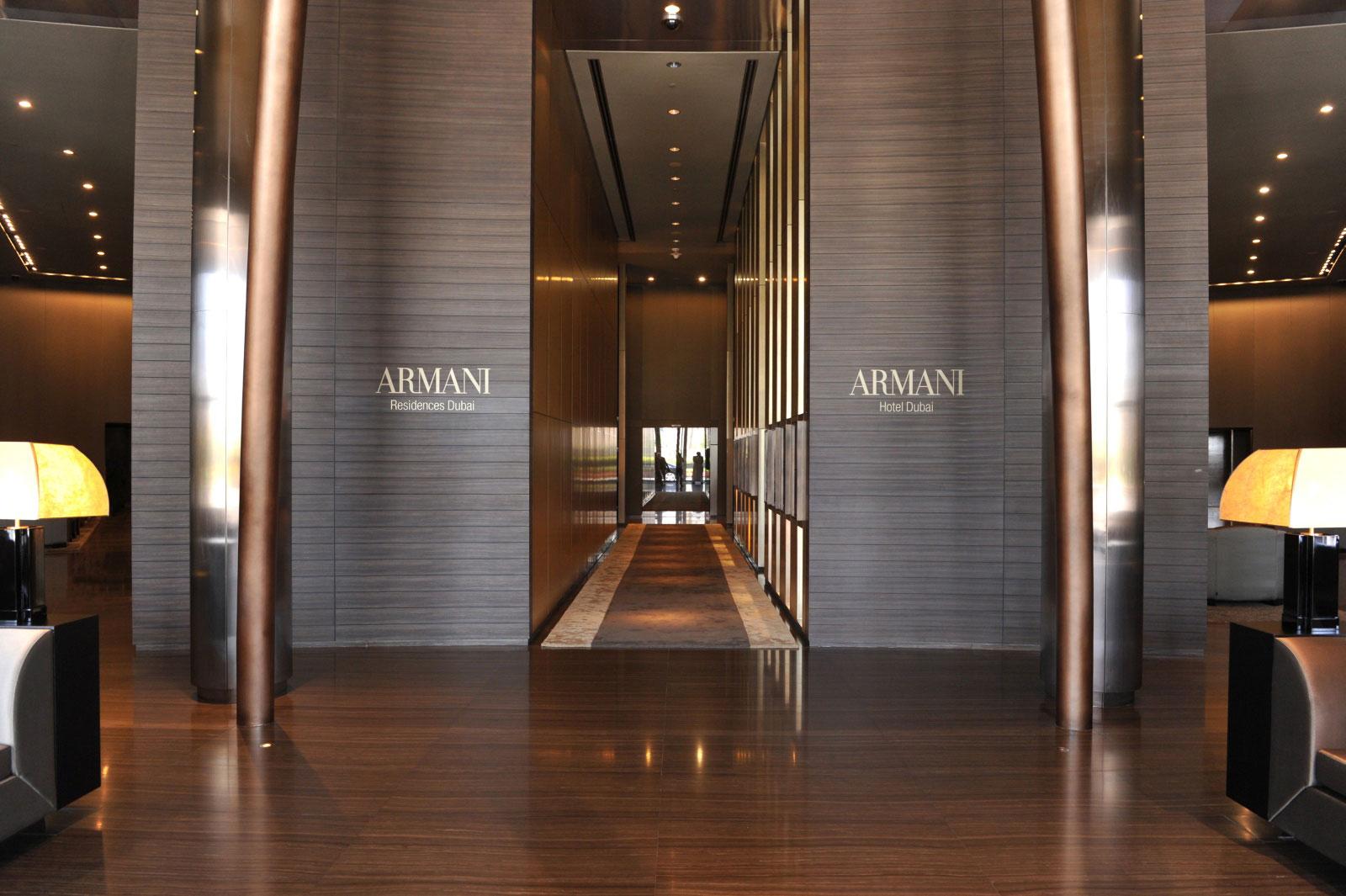 Armani Hotels & Resorts, Milan - Dubai
