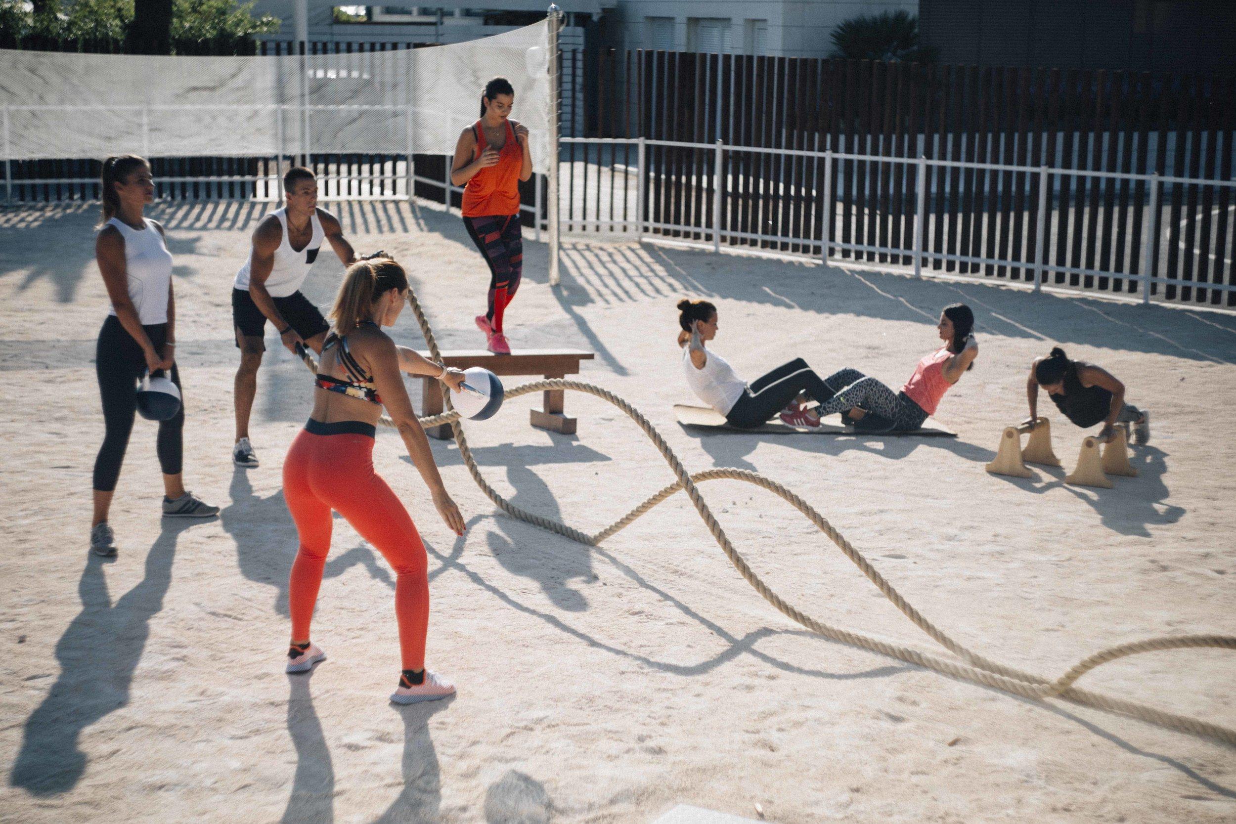 biofit outdoor gym design