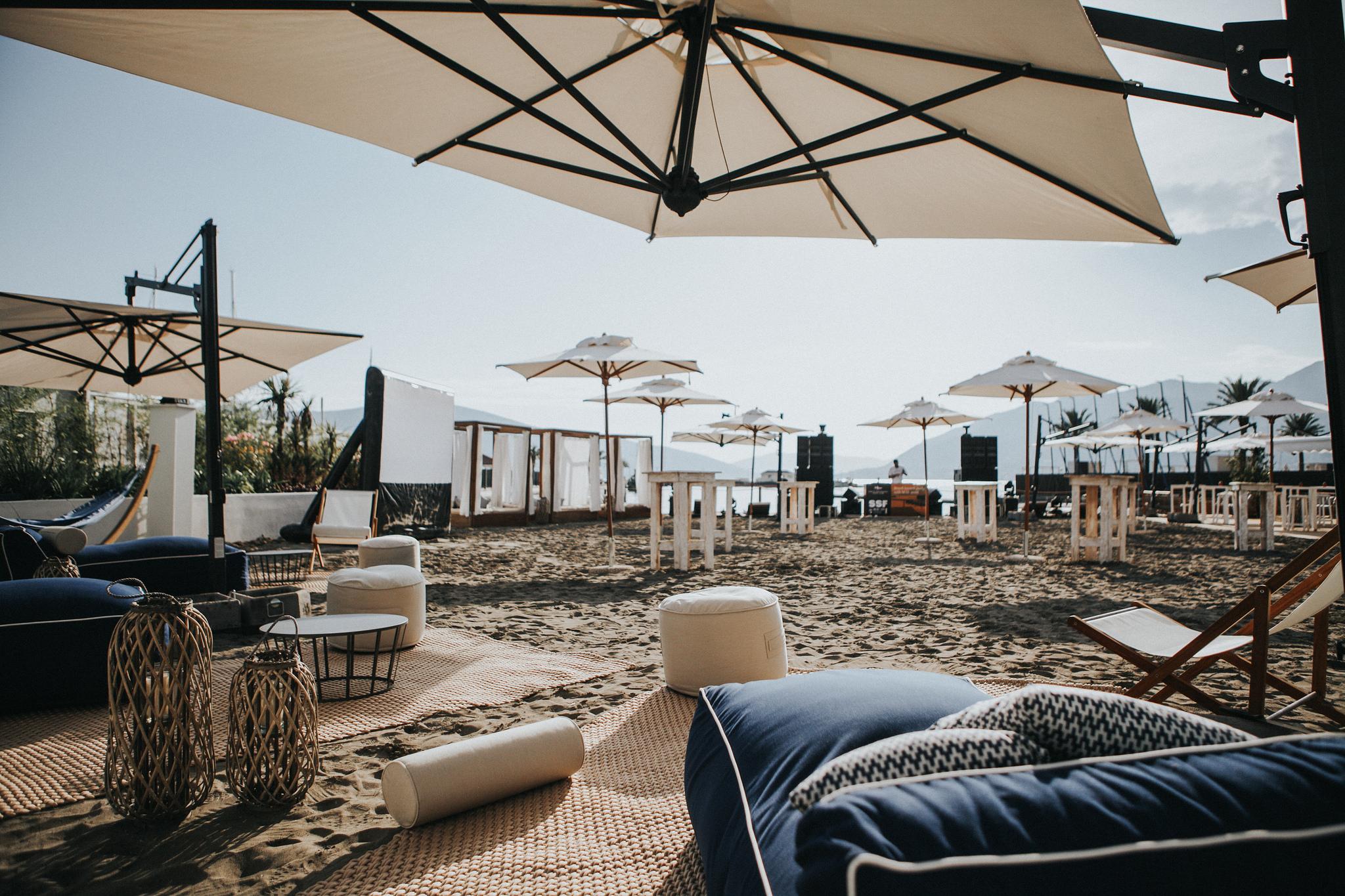 beach club design branding service concept furniture procurement