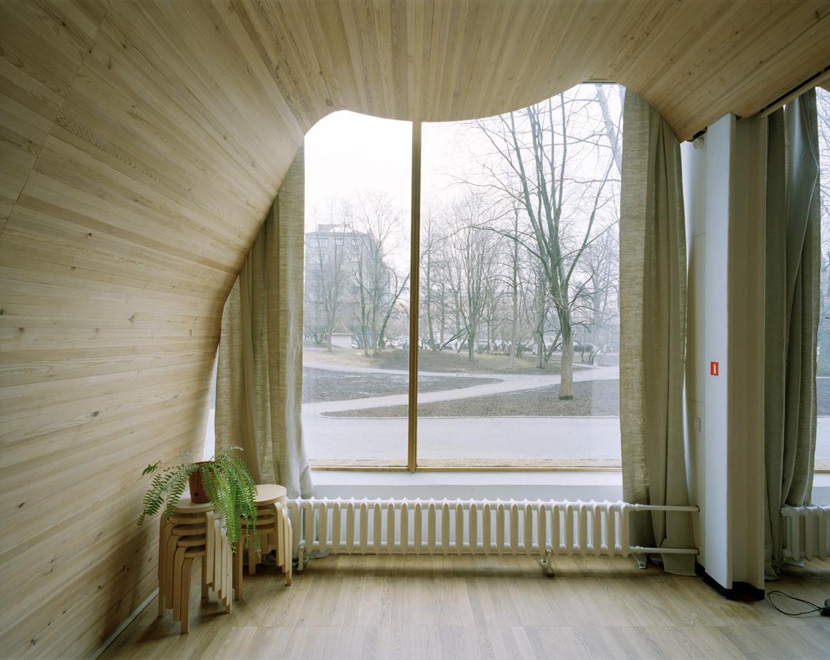 organic design biophilia architecture alvar aalto library
