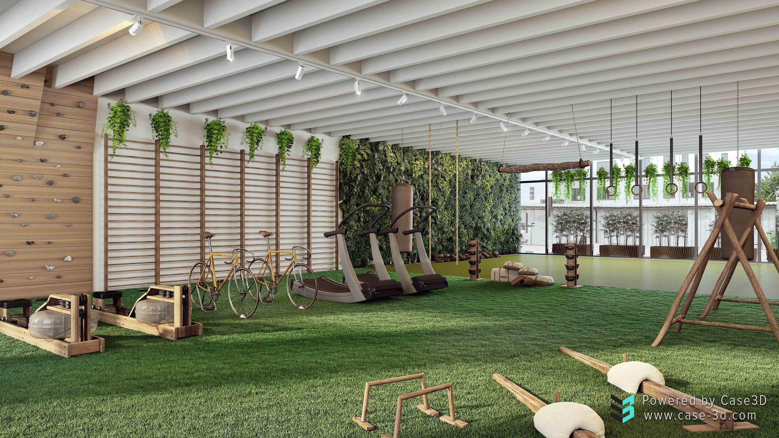 biofit biofilico gym design green eco biophilic