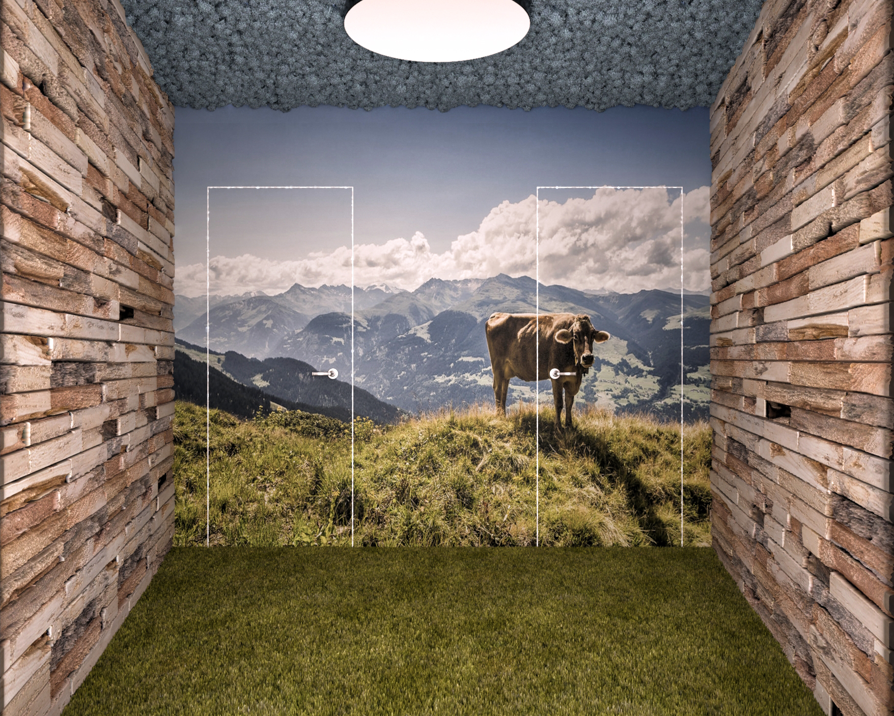biophilic design in the home, office or gym
