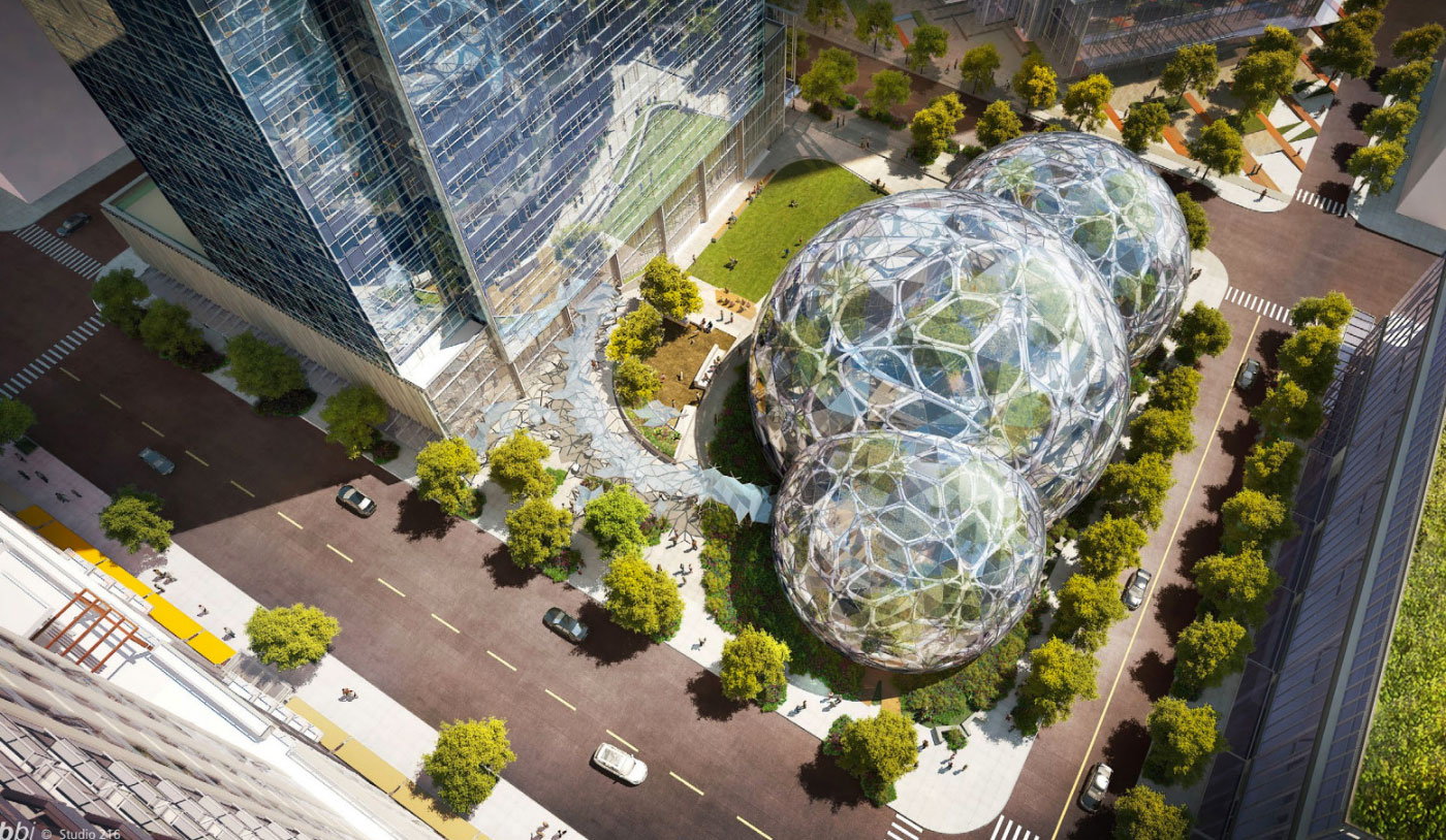 amazon the spheres seattle