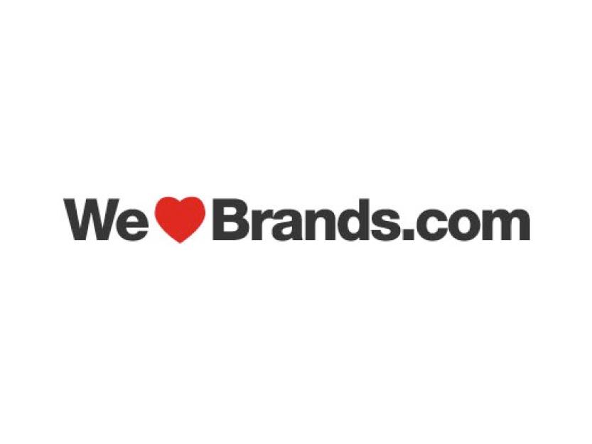 Veröffentlichung auf we love brands dot com