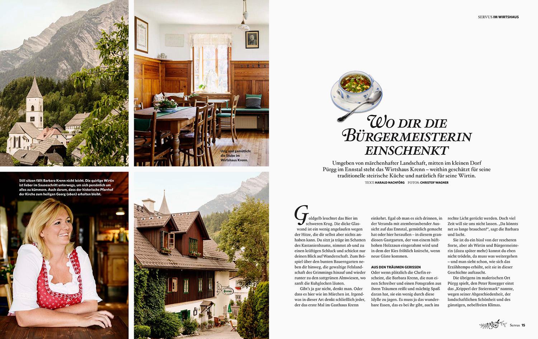 kulinarische Reportage Wirtshaus Krenn / GUTE KÜCHE