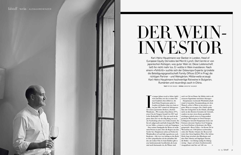 Portrait von Karl-Heinz Hauptmann / A LA CARTE