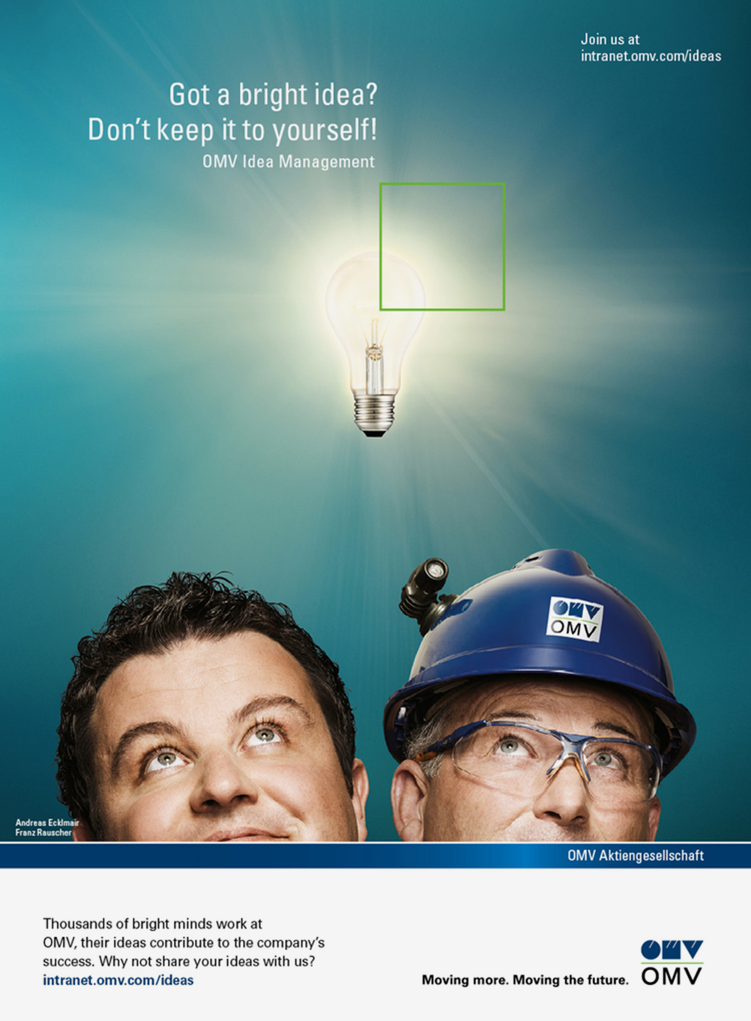 """idea management"" / Kampagne für OMV"