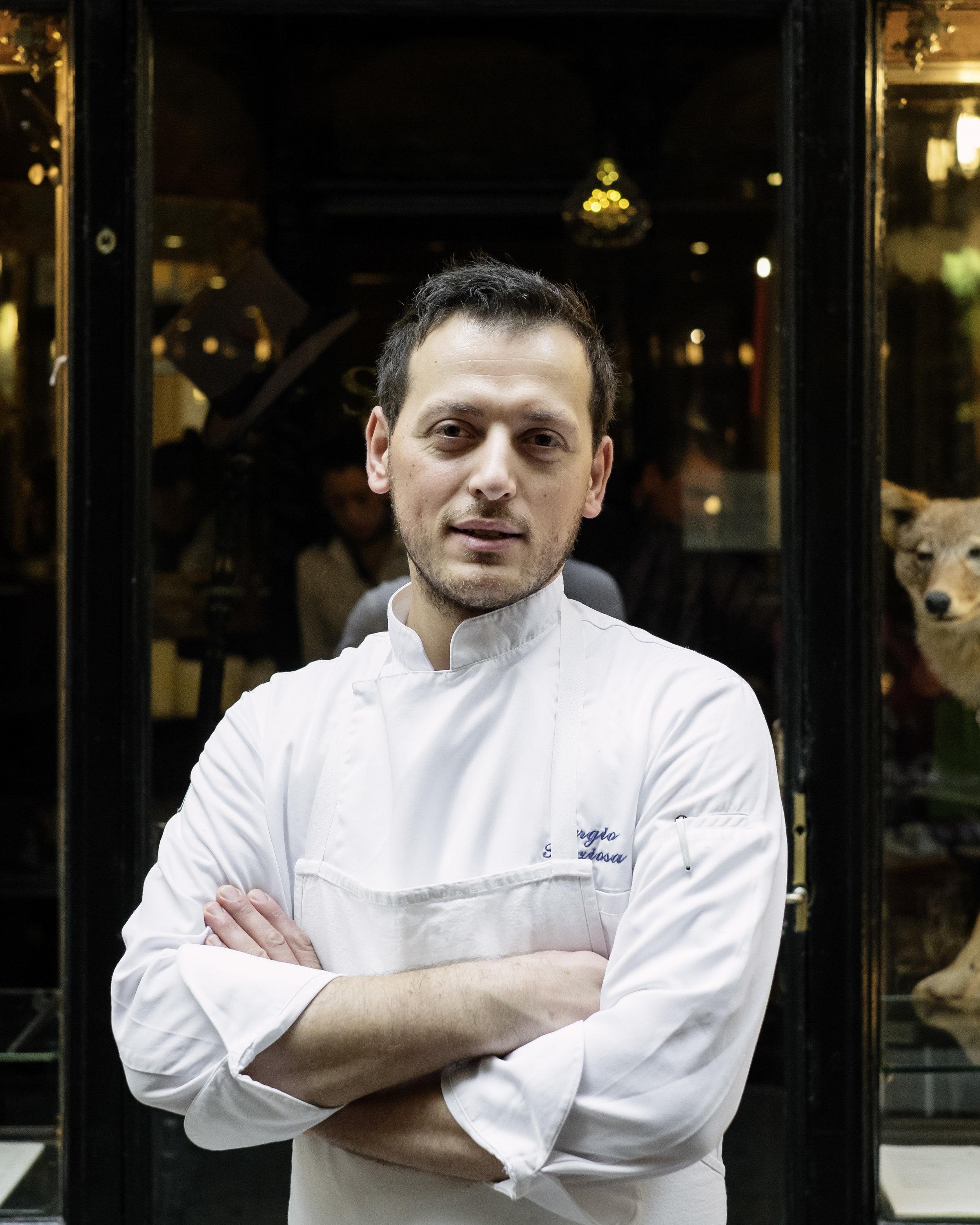 SERGIO PREZIOSA / Chef Le Cafe Stern Paris