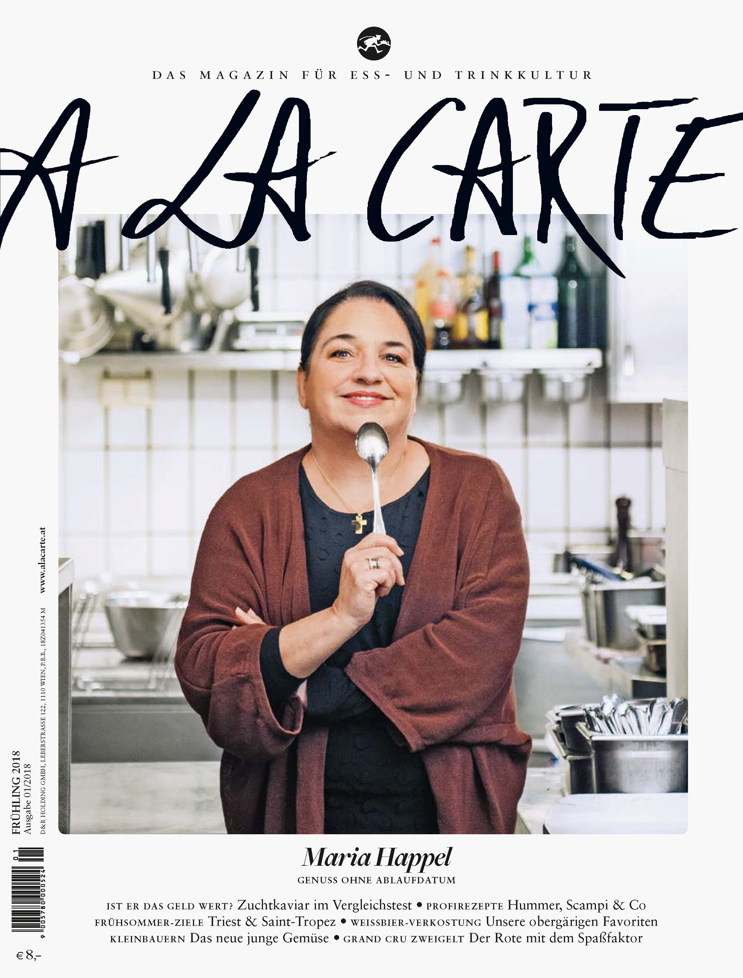 Coverstory mit Maria Happel / A LA CARTE